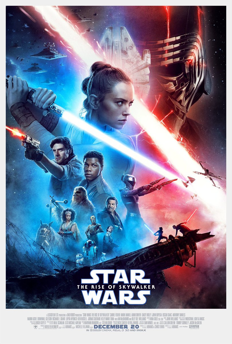 Cartel final de Star Wars: El ascenso de Skywalker