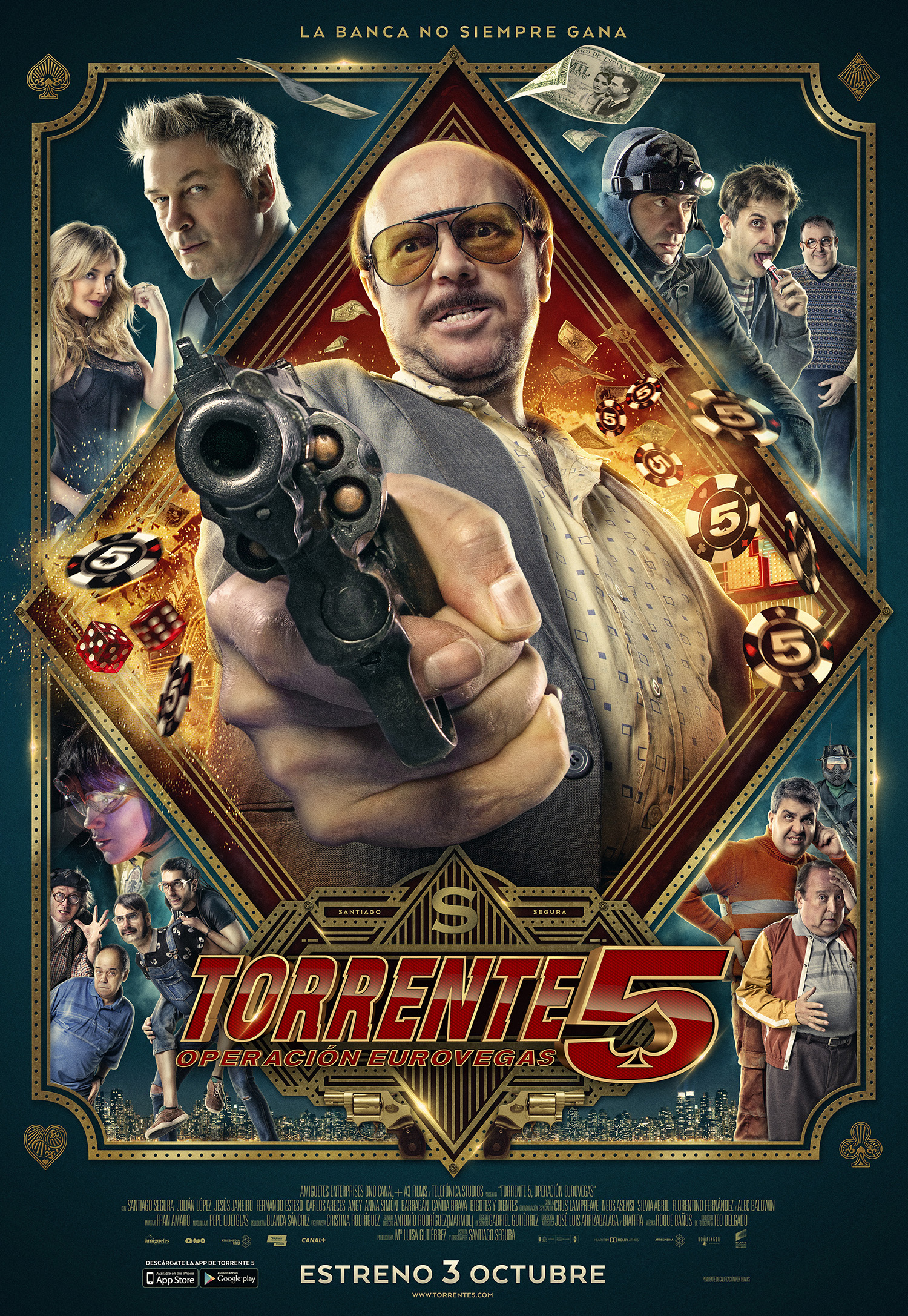 "Cartel final de ""Torrente 5: Operación Eurovegas"""