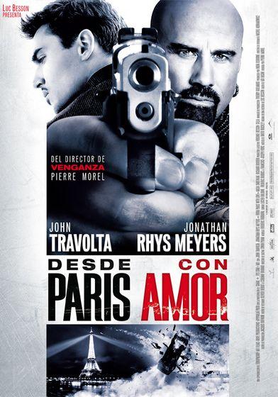 Cartel oficial en español de: Desde París con amor