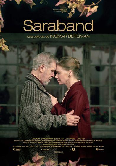 Cartel oficial en español de: Saraband