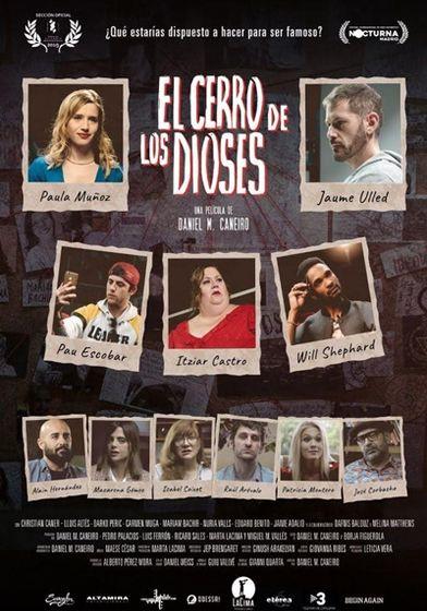 Cartel oficial en español de: El cerro de los dioses