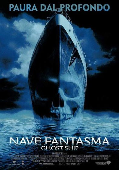 "Cartel ""Ghost Ship (Barco Fantasma)"" italiano"