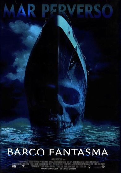 "Cartel ""Ghost Ship (Barco Fantasma)"" mexicano"