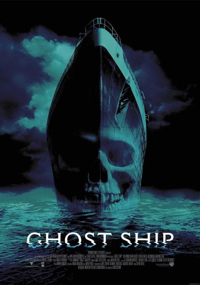 "Cartel ""Ghost Ship (Barco Fantasma)"" norteamericano"