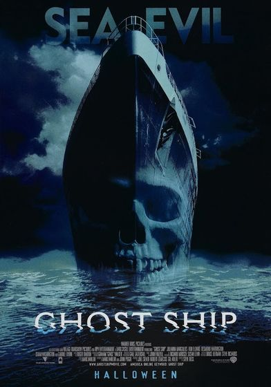 "Cartel ""Ghost Ship (Barco Fantasma)"" norteamericano 2"