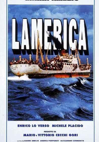 "Cartel ""Lamerica"" italiano 2"