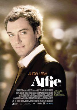 "Cartel ""Alfie (2004)"" alemán"
