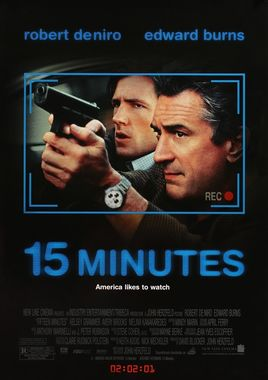 "Cartel ""15 minutos"" norteamericano"