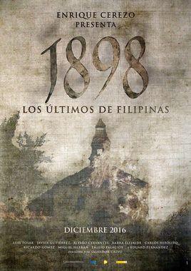 """Cartel teaser """"1898. Los últimos de Filipinas"""" 1 español"""