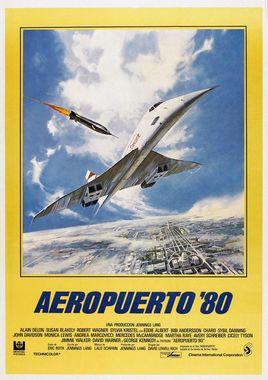 Cartel oficial en español de: Aeropuerto 80