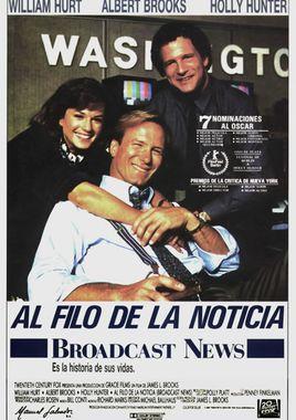 Cartel oficial en español de: Al filo de la noticia