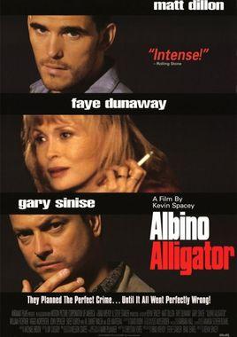 Cartel oficial en español de: Albino Alligator (La trampa del caimán)