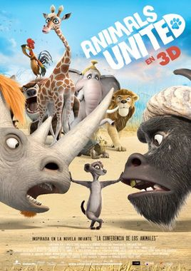 Cartel oficial en español de: Animals United