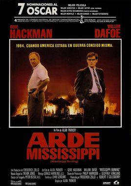 Cartel oficial en español de: Arde Mississippi