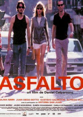 Cartel oficial en español de: Asfalto