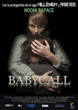 Cartel oficial en español de: Babycall