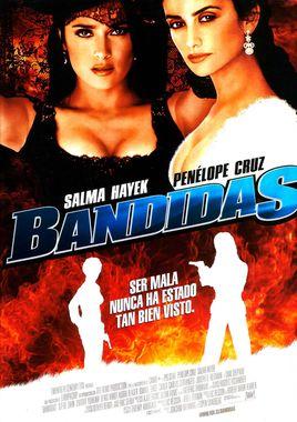 Cartel oficial en español de: Bandidas