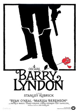 Cartel oficial en español de: Barry Lyndon