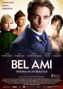 Cartel oficial en español de: Bel Ami, historia de un seductor