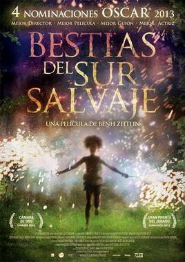 Cartel oficial en español de: Bestias del sur salvaje