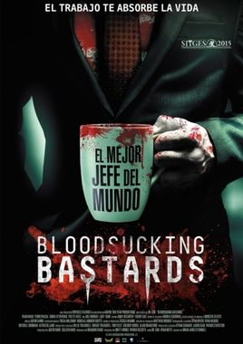 Cartel oficial en español de: Bloodsucking Bastards