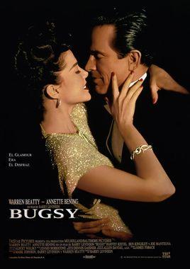 Cartel oficial en español de: Bugsy