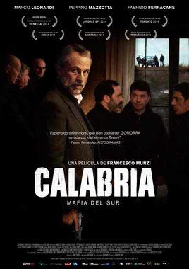 Cartel oficial en español de: Calabria