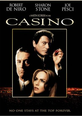 "Cartel ""Casino"" norteamericano DVD"