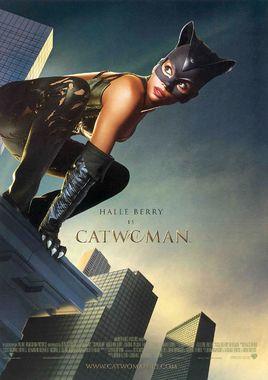 Cartel oficial en español de: Catwoman