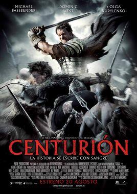 Cartel oficial en español de: Centurión