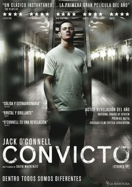 Cartel oficial en español de: Convicto (Starred Up)