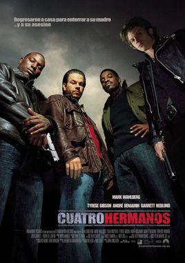 Cartel oficial en español de: Cuatro hermanos