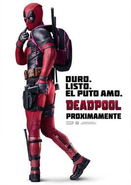 Cartel oficial en español de: Deadpool