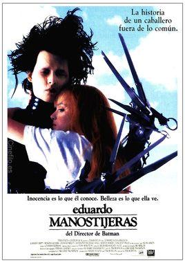 Cartel oficial en español de: Eduardo Manostijeras
