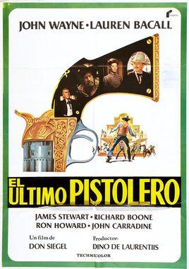 Cartel oficial en español de: El último pistolero
