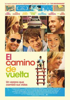 Cartel oficial en español de: El camino de vuelta