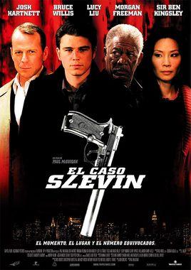 Cartel oficial en español de: El caso Slevin