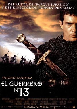 Cartel oficial en español de: El guerrero nº 13