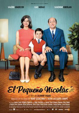 Cartel oficial en español de: El pequeño Nicolás