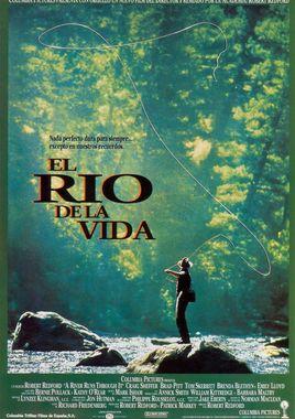 Cartel oficial en español de: El río de la vida