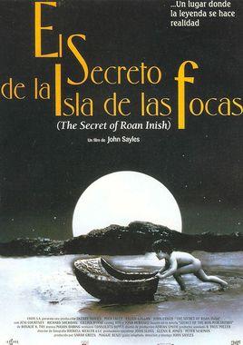 Cartel oficial en español de: El secreto de la isla de las focas