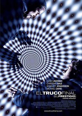 Cartel oficial en español de: El truco final (El prestigio)