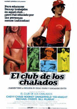 Cartel oficial en español de: El club de los chalados