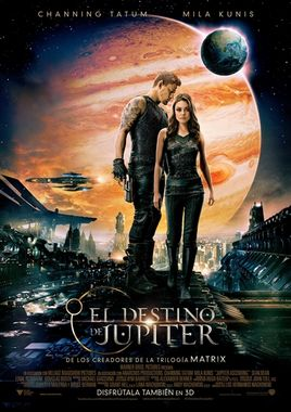 Cartel oficial en español de: El destino de Jupiter