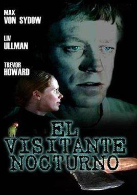 Cartel oficial en español de: El visitante nocturno