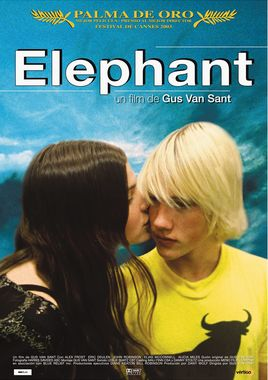 Cartel oficial en español de: Elephant