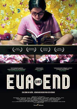 Cartel oficial en español de: Eva Van End