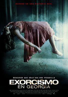 Cartel oficial en español de: Exorcismo en Georgia