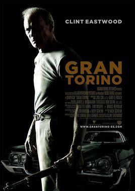Cartel oficial en español de: Gran Torino