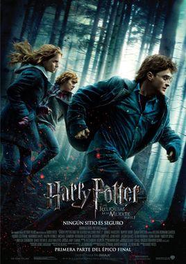 Cartel oficial en español de: Harry Potter y las reliquias de la muerte: Parte I